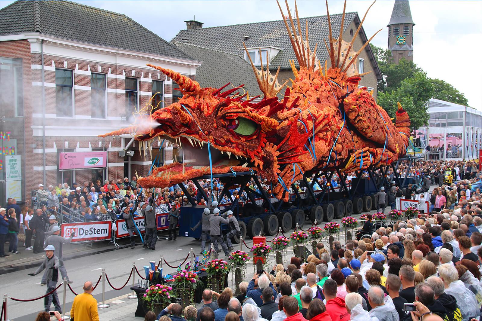 Buurtschap Tiggelaar wint corso Zundert